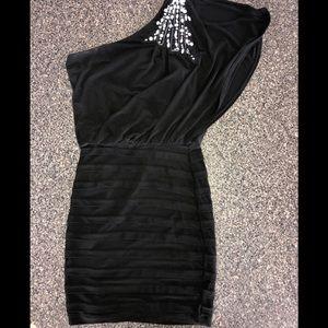 B. Darlin formal mini dress